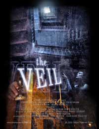 The Veil movie poster.